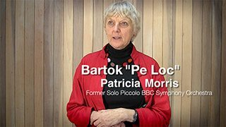Bartok – Pe Loc (from Romanian Folk Dances)