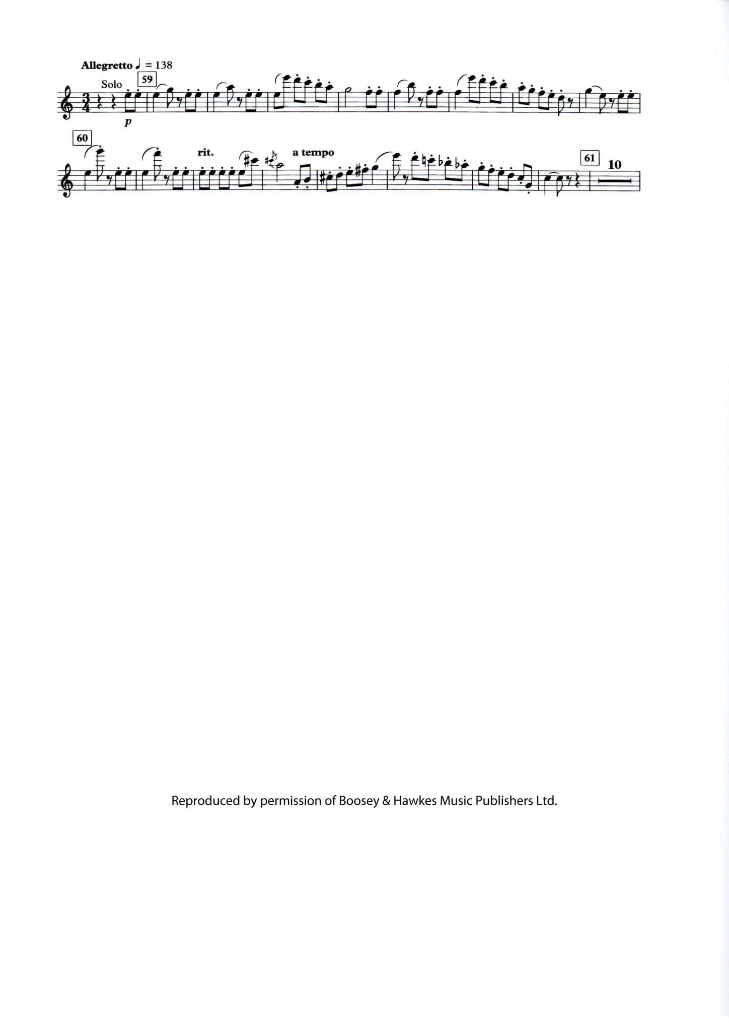 Shostakovich Symphony No  5 Mvt 2 - Principal Chairs