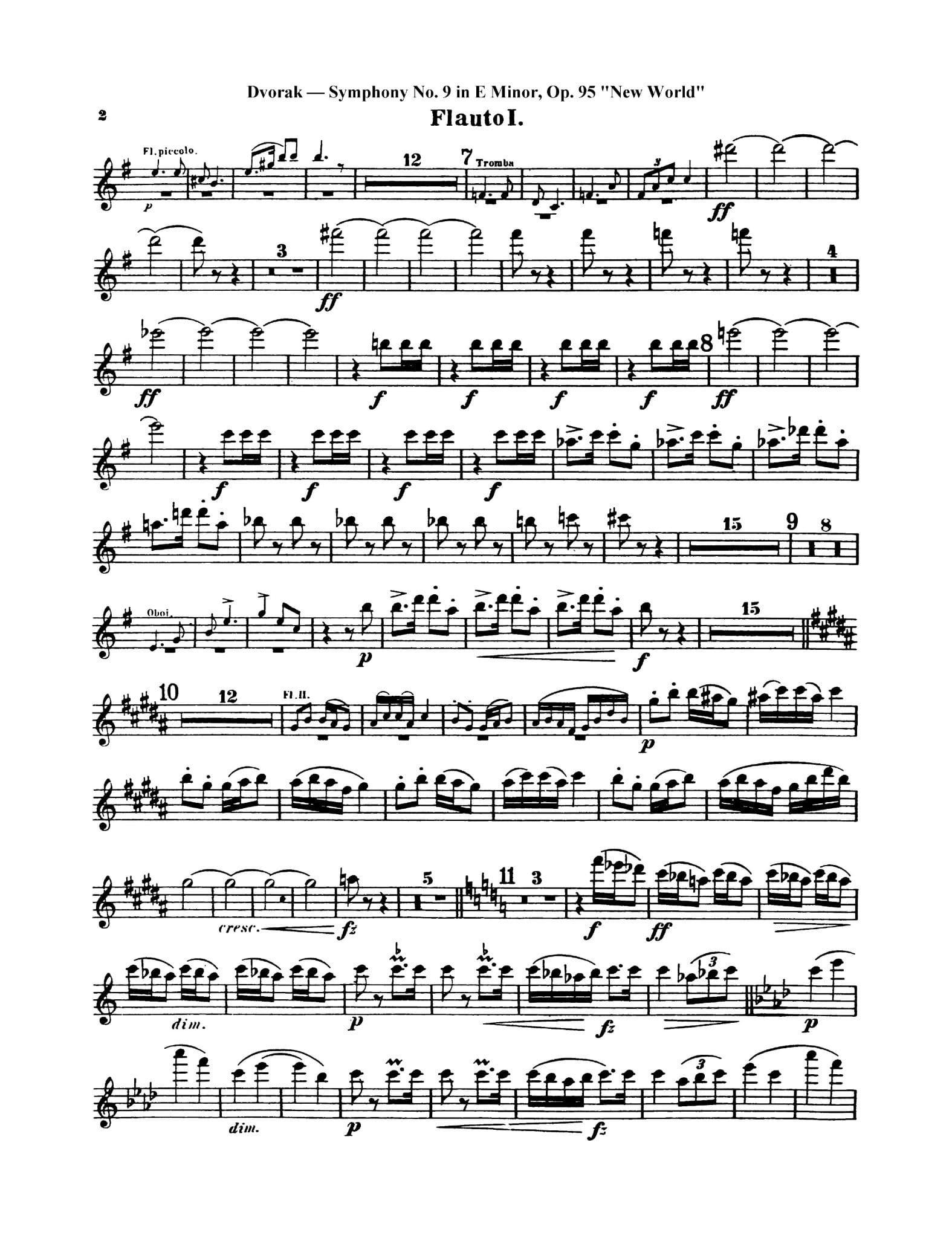 Dvorak Symphony No. 9 2