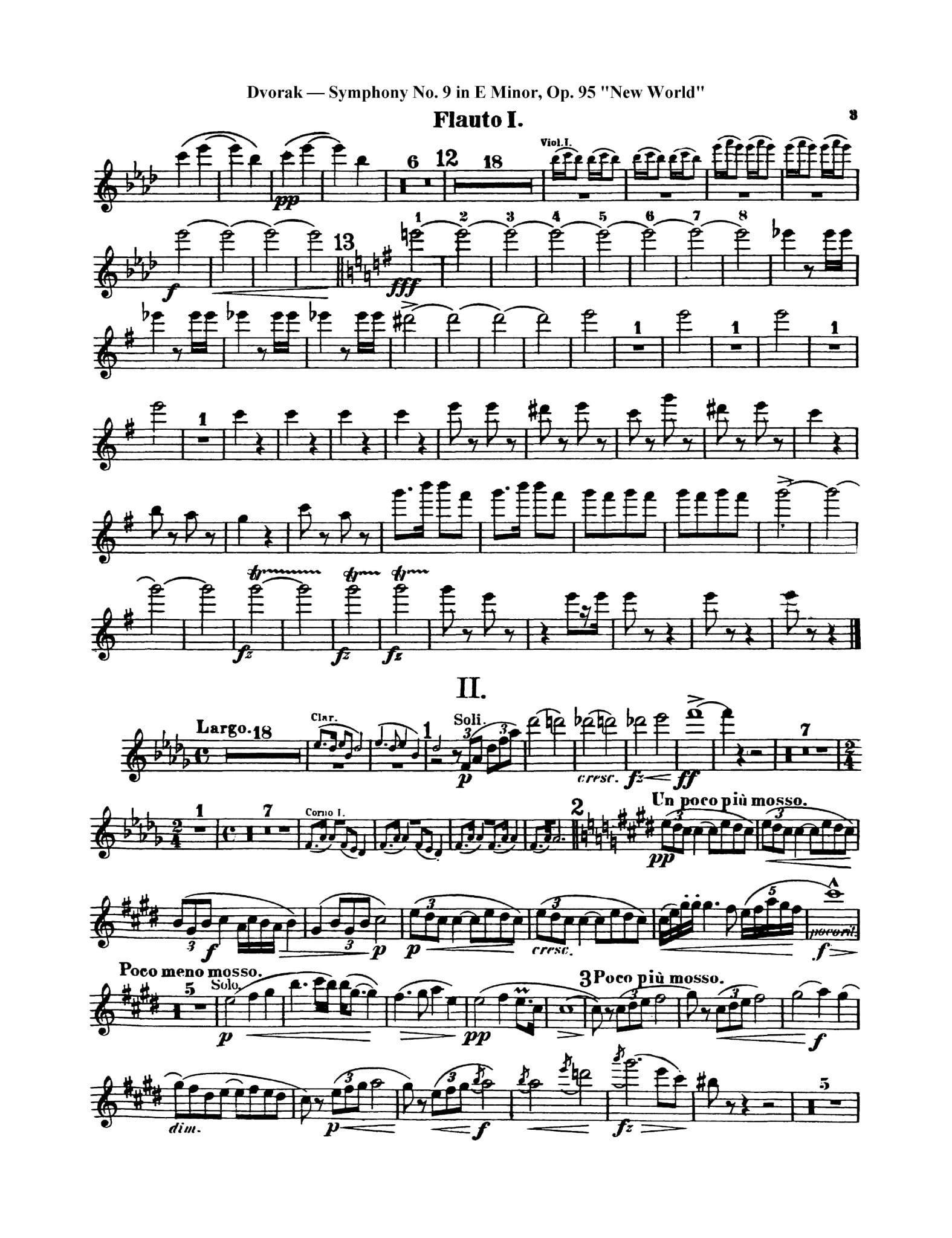 Dvorak Symphony No. 9 3