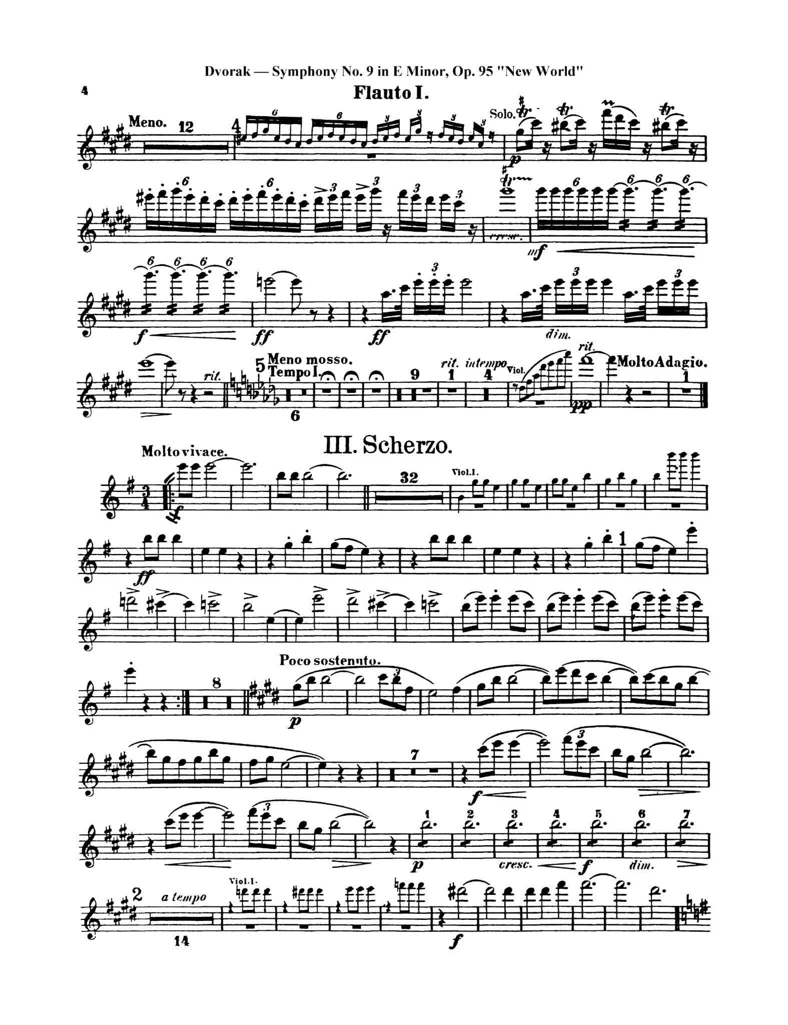 Dvorak Symphony No. 9 4