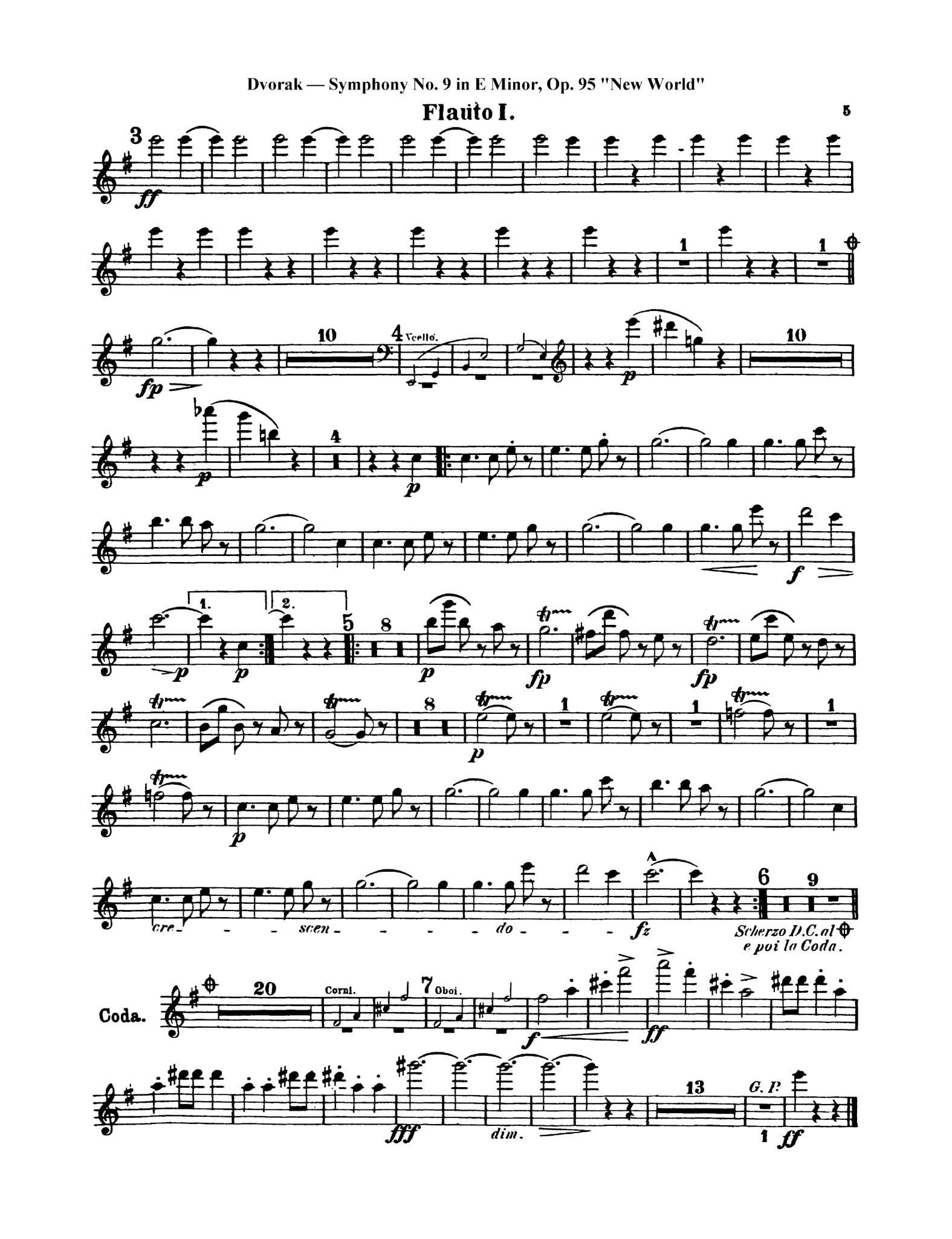 Dvorak Symphony No. 9 5