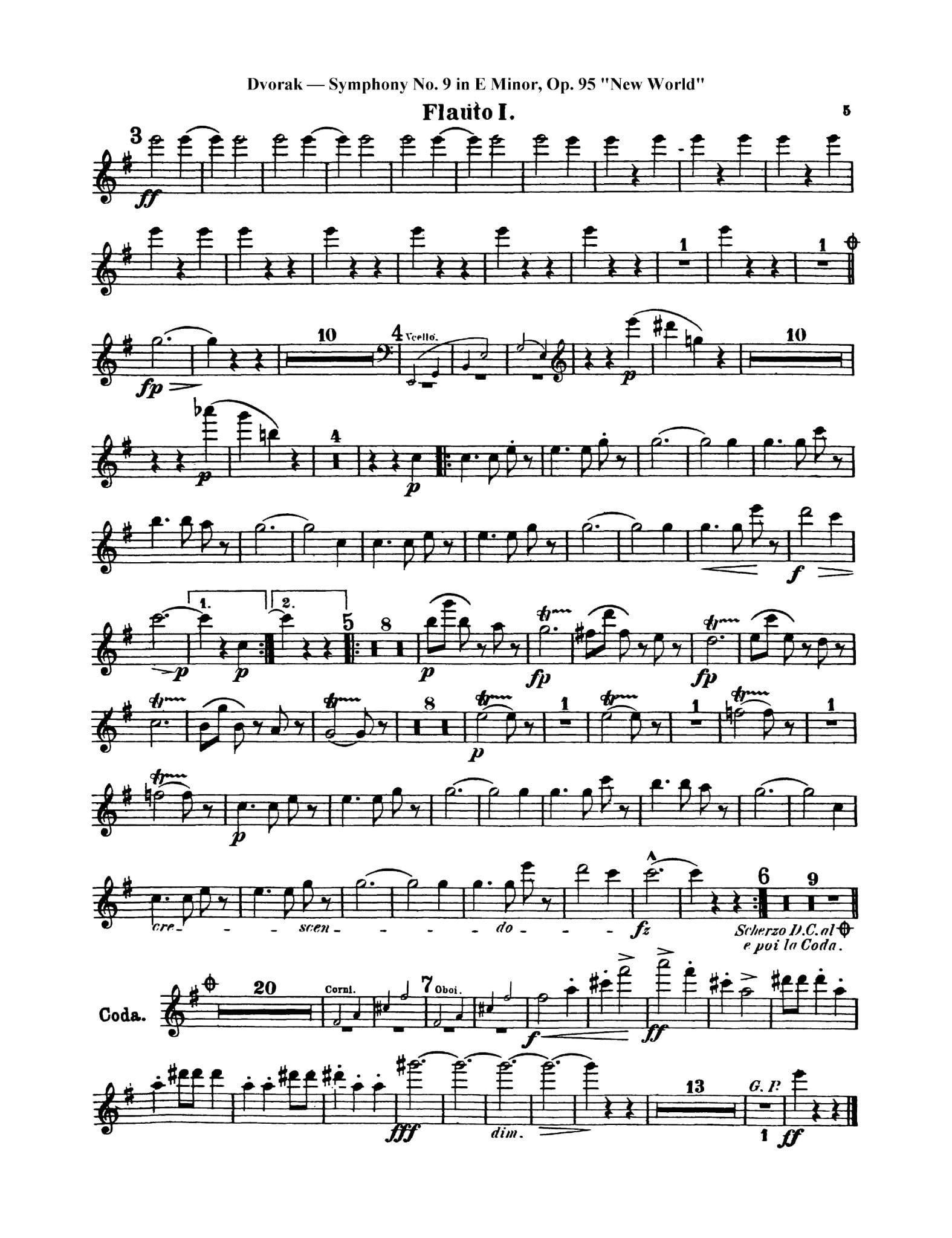Dvorak Symphony 9 5