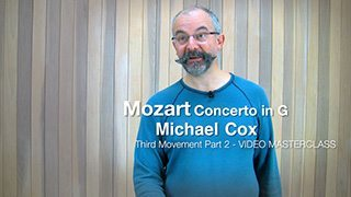 Mozart – Concerto in G maj Mvt. 3 (Part 2)