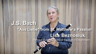 "Bach – ""Aus Liebe"" – St. Matthew Passion (Part 1) – Trailer"