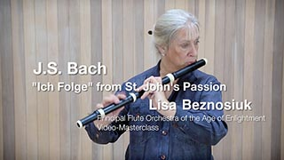 "Bach – ""Ich Folge"" – St. John's Passion"