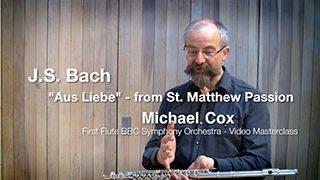 "Bach – ""Aus Liebe"" – St. Matthew Passion"