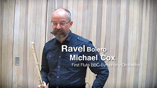 Ravel – Bolero solo – first flute part – Trailer