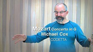 Mozart – Concerto in G maj Mvt. 1 (Codetta)