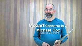 Mozart – Concerto in G maj Mvt. 2 (Part 1)