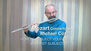 Mozart – Concerto in G maj Mvt. 1 (1st Subject)