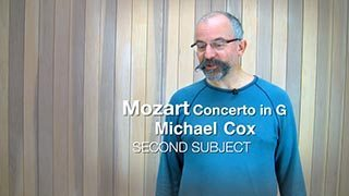 Mozart – Concerto in G maj Mvt. 1 (2nd Subject)