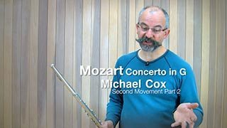Mozart – Concerto in G maj Mvt. 2 (Part 2)