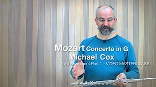 Mozart – Concerto in G maj Mvt. 3 (Part 1)