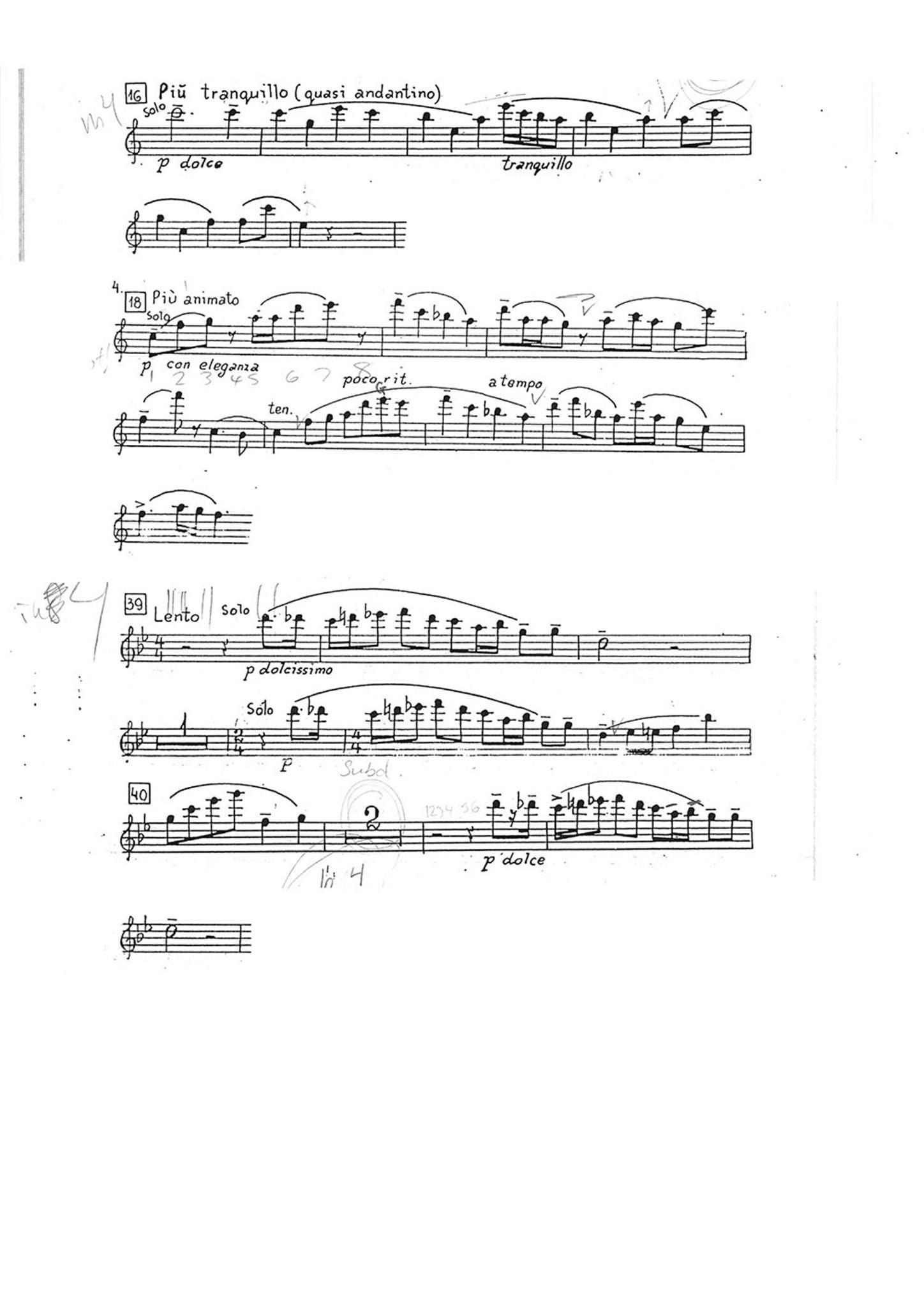 Romeo and Juliet music pg 1