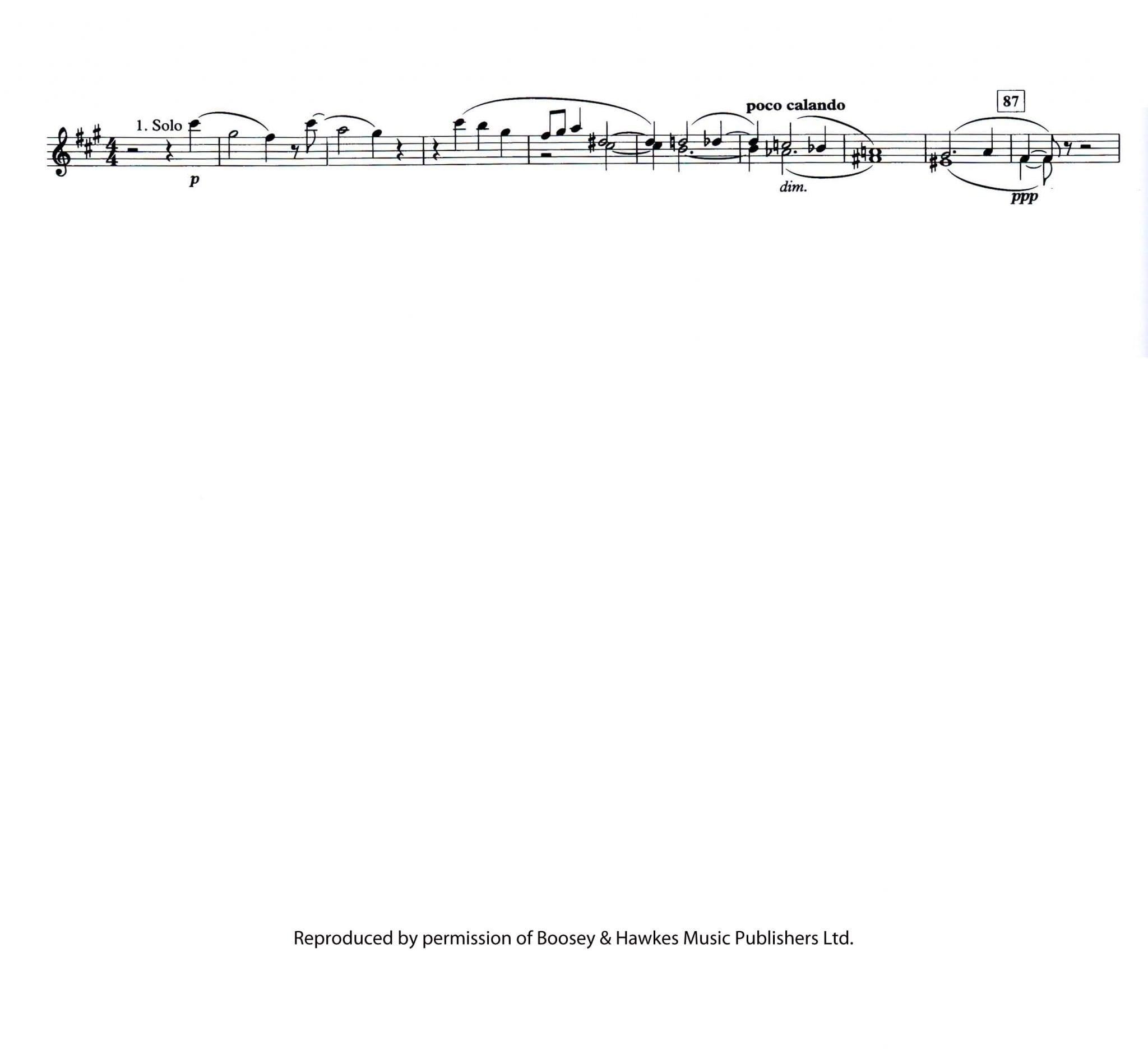 Shostakovich Symphony No 5 Mvt 3 pt 2 - Principal Chairs