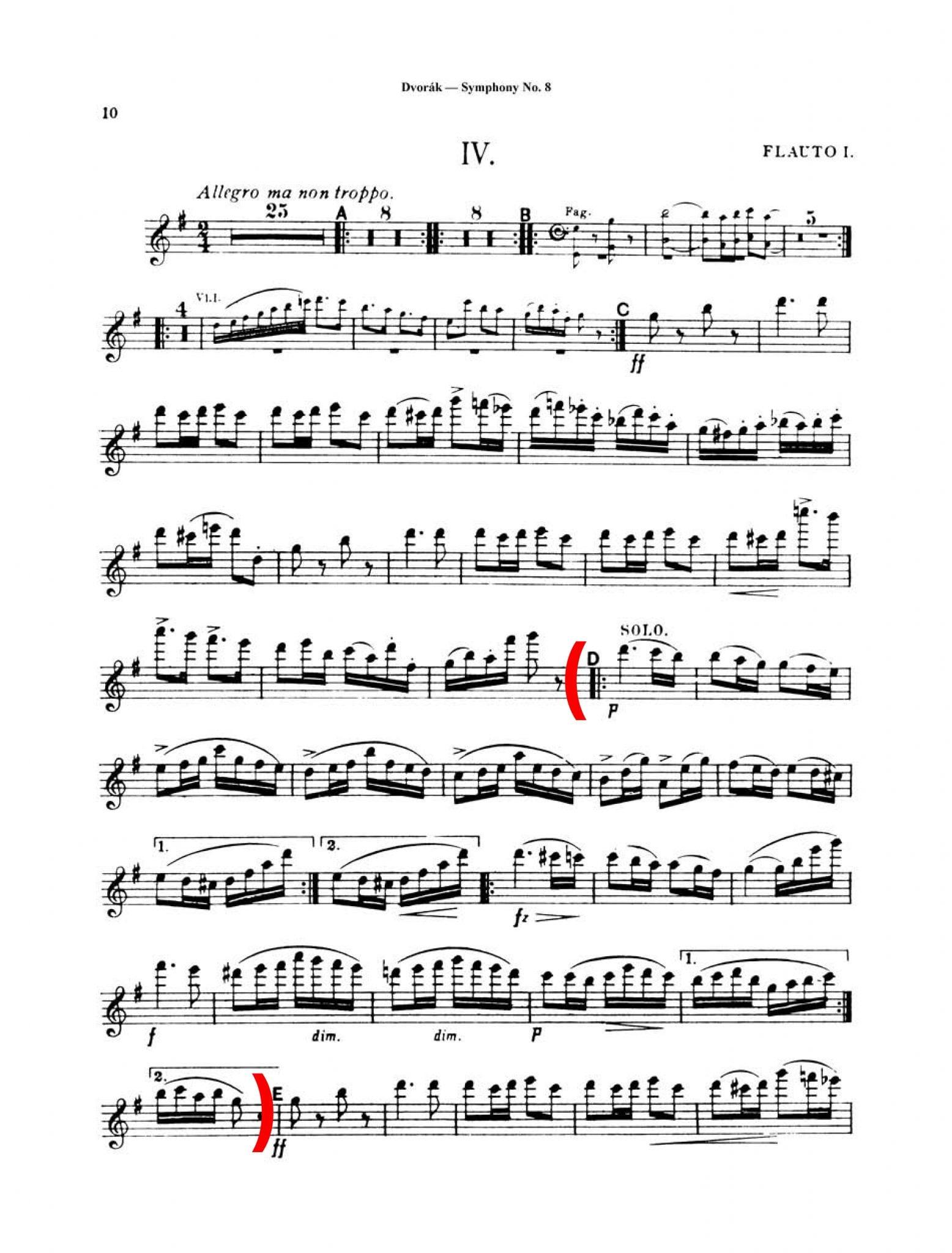 Dvorak Symphony No. 8